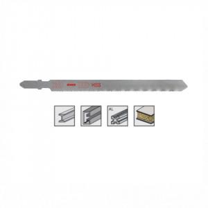 Set 5 panze pentru fierastrau pendular, dantura ondulata, HSS-Otel - 8016