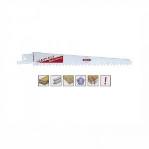Set 5 panze pentru fierastrau sabie, dinti ceaprazuiti, HSS Bimetal - 8917