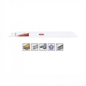 Set 5 panze pentru fierastrau sabie, dinti ceaprazuiti, HSS Bimetal - 8929