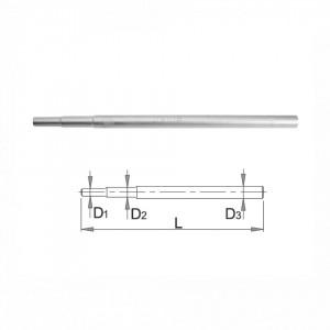 Trusa de chei tubulare teava in cutie de carton - 215/2CB