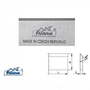 Cutite de rindeluit/abric HSS18%-1.3355 latime 30 mm pentru lemn dur - 13355-30