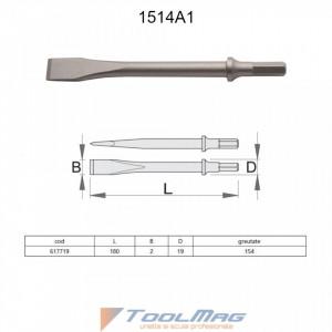 Dalta lata pentru pistolul pneumatic percutor -1514A1