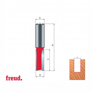 Freza cu coada, cilindrico frontala, placata CMS Z2 - 04-, MM-