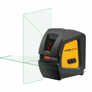 Laser in cruce cu raza verde CL1
