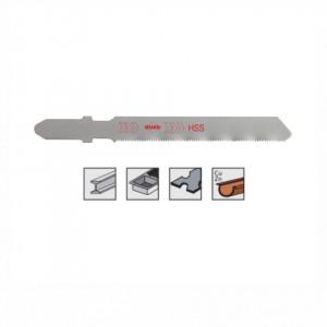 Set 5 panze pentru fierastrau pendular, dantura ondulata, HSS-Otel - 8012