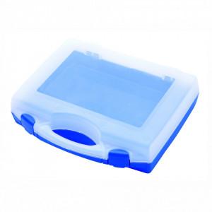 Cutie de plastic cu capac transparent (197x167x47 mm) - 981PBM1