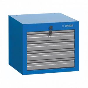Dulap scule ingust cu montare sub blat - 4 sertare - 990NDH4