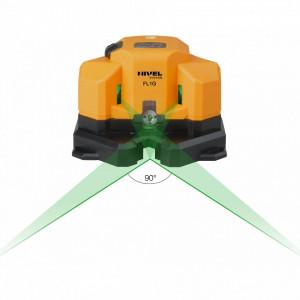 Laser in cruce cu fascicul de lumina verde FL1G