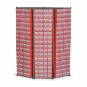 Organizator de perete 192 module (1430x315x1090mm) - C.D.13