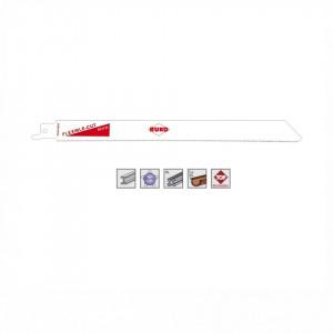 Set 5 panze pentru fierastrau sabie, dinti ceaprazuiti, HSS Bimetal - 8913