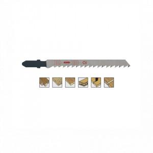 Set 5 panze pentru fierastrau pendular, dantura rectificata, HCS - 8007