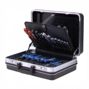 Trusa profesionala de scule pentru electricieni in cutie ABS - TSE3