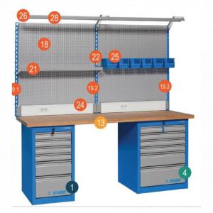 Banc de lucru modular - Modul 1 - 990MA1 - UNIOR detalii