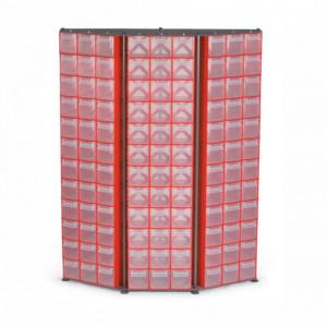 Organizator de perete 108 module (1440x315x1090mm) - C.D.14