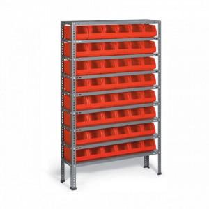 Organizator pe suport metalic 48 module (100x1600x260mm) - A.R.03