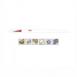 Set 5 panze pentru fierastrau sabie, dinti ceaprazuiti, HSS Bimetal - 8937