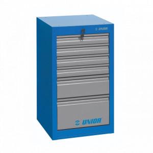 Dulap ingust pentru scule - 6 sertare - 990ND6