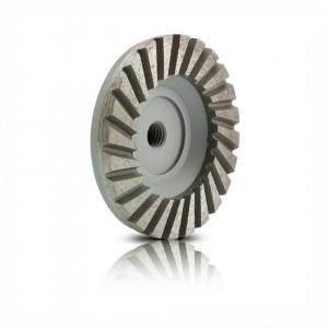 Disc oala segmentat din aluminiu