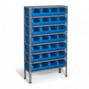 Organizator pe suport metalic 24 module (930x1600x300mm) - A.R.04