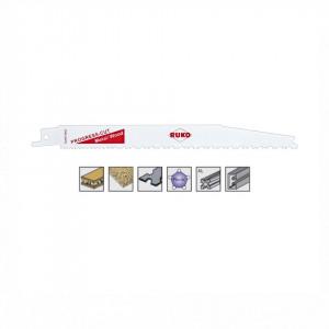 Set 5 panze pentru fierastrau sabie, dinti ceaprazuiti, HSS Bimetal - 8943
