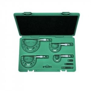 Set micrometre mecanice de exterior 0-100 mm / 4 piese - 3203-1004A