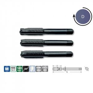 Set tarozi M HSS-E Co5 DIN 352