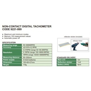Tahometru digital 9221-999