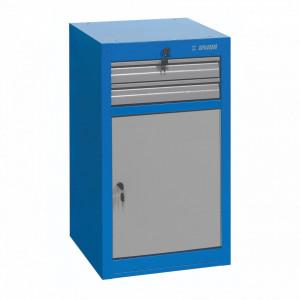 Dulap ingust pentru scule - 2 sertare si usa - 990NDD2