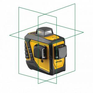 Laser în cruce multifunctional cu raza verde (3x 360º) CL3D-G