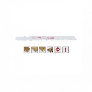 Set 5 panze pentru fierastrau pendular, dantura alternanta, HSS-Bimetal - 8021