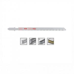 Set 5 panze pentru fierastrau pendular, dantura ondulata, HSS-Otel - 8017