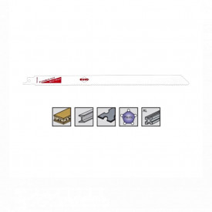 Set 5 panze pentru fierastrau sabie, dinti ceaprazuiti, HSS Bimetal - 8910