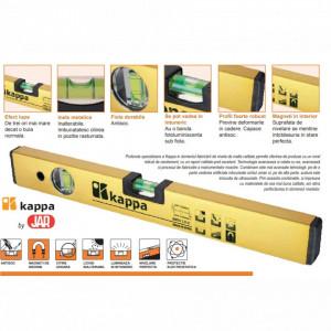 Nivela aluminiu clasica ProLevel - 040E - Kappa detalii