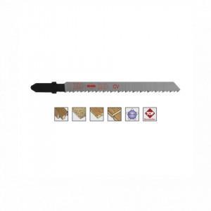 Set 5 panze pentru fierastrau pendular, dantura rectificata, HCS - 8001