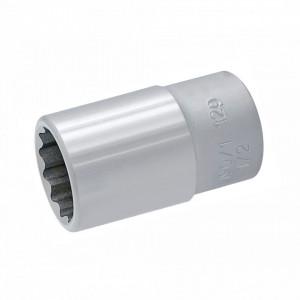 """Trusa capete chei tubulare 1/2"""" in cutie metalica - 190BI12P24"""