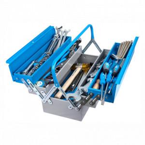 Trusa profesionala de scule pentru lacatusi TSL in cutie metalica 911/5 ak3 - 911/5 ak3