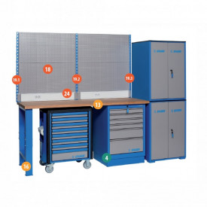 Banc de lucru modular - Modul 2 - 990MB2 - Unior detalii