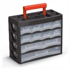 Cutie plastic cu sertare 4/19 (315x270x140 mm) - P.L.02