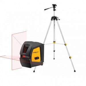 Laser in cruce cu raza rosie CL1 + trepied