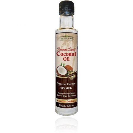 Ulei lichid de cocos 250 ml