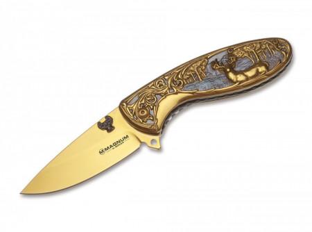 Briceag Magnum Golden Deer Hunter