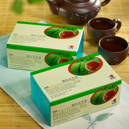 Reishi Gano Tea + ПОДАРЪК: Парфюмен душ гел за жени POUR TOUJOURS
