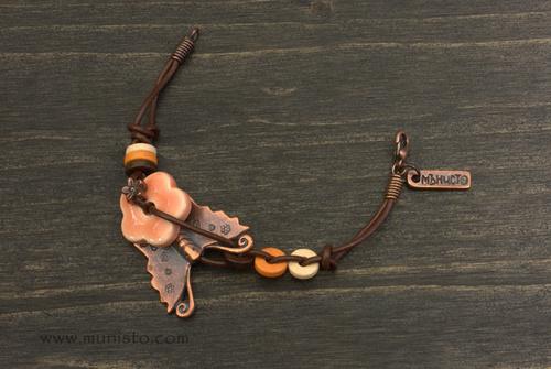 Детска гривна Пеперудка изображения