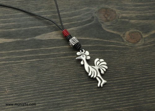 Men's Necklace Rooster images