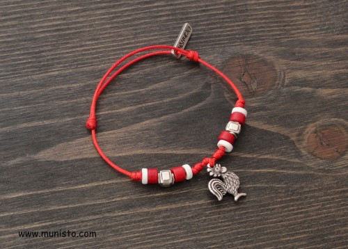 Martenitsa Bracelet Rooster images