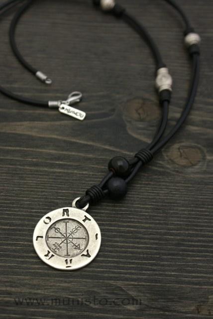 Men's Necklace Wheel of Fortune