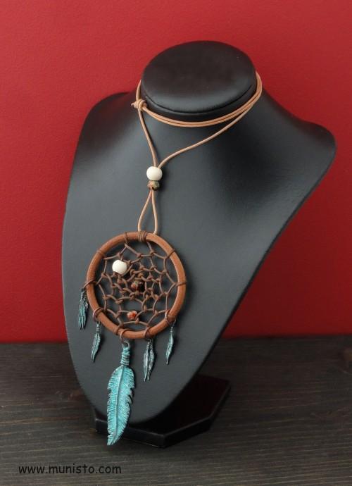 """Women's Necklace """"Dreamcatcher"""" images"""