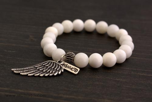 Дамска гривна Крила изображения