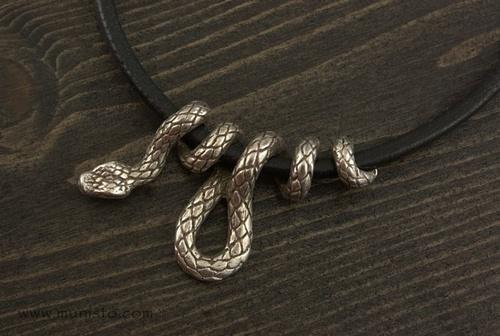 Дамско колие Змия изображения