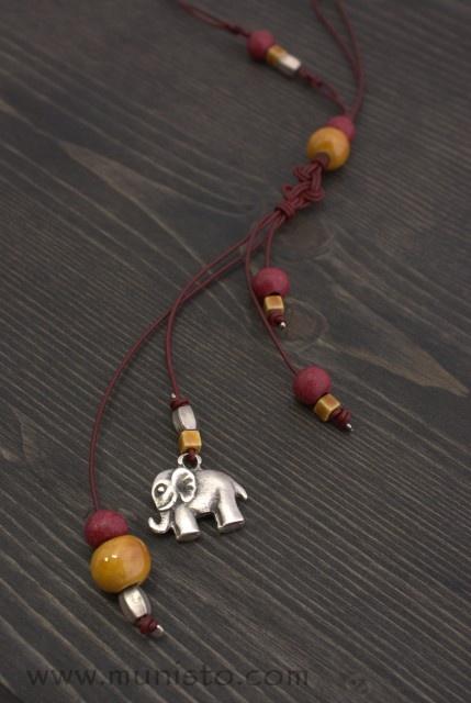 Дамско колие Слон изображения